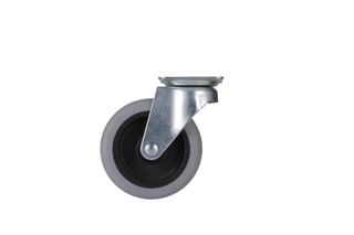 3'' Light Duty Plate Swivel TPE Caster Wheel