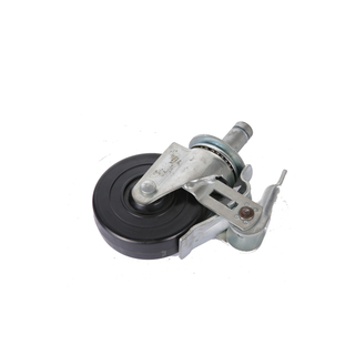 "5"" TPR Swivel Caster Wheel for Scaffolding with Brake"