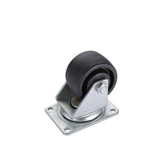 "3"" Low Profile Caster Wheel PA Material"