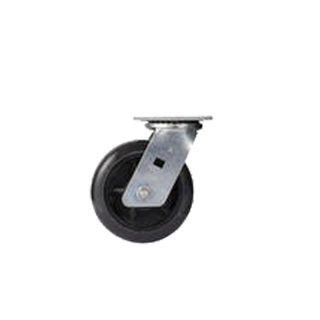 4 inch Heavy Duty Stanless Steel swivel PU TPR Caster Wheel with bearing