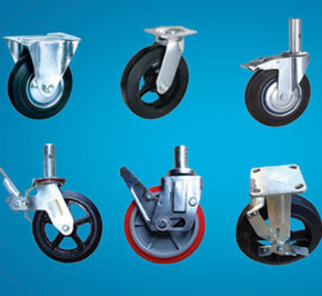What are the methods of galvanizing caster wheel?